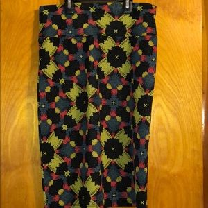 LuLaRoe Fitted Skirt Floral Print